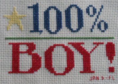 Jan D, FL - 100% boy