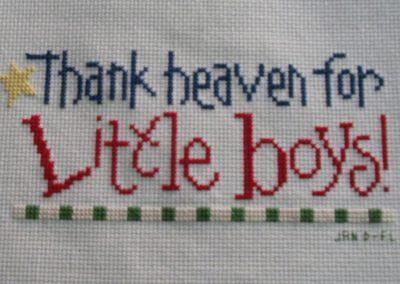 Jan D, FL - little boys